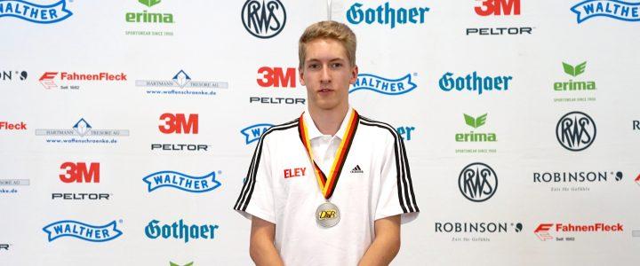 Doppel Silber und Bronze für Luc Dingerdißen bei der DM 2016